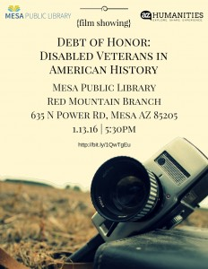 Debt of Honor-Disabled Veterans in American History