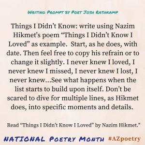 april 7 writing prompt