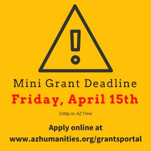 mini grant deadline reminder