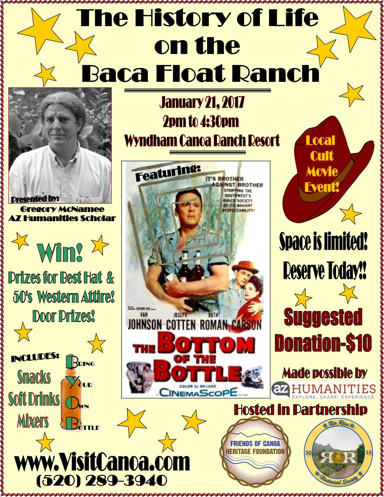 az humanities baca float ranch movie event green valley