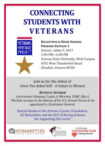 veterans heritage project 2017