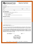 Donated Item Form